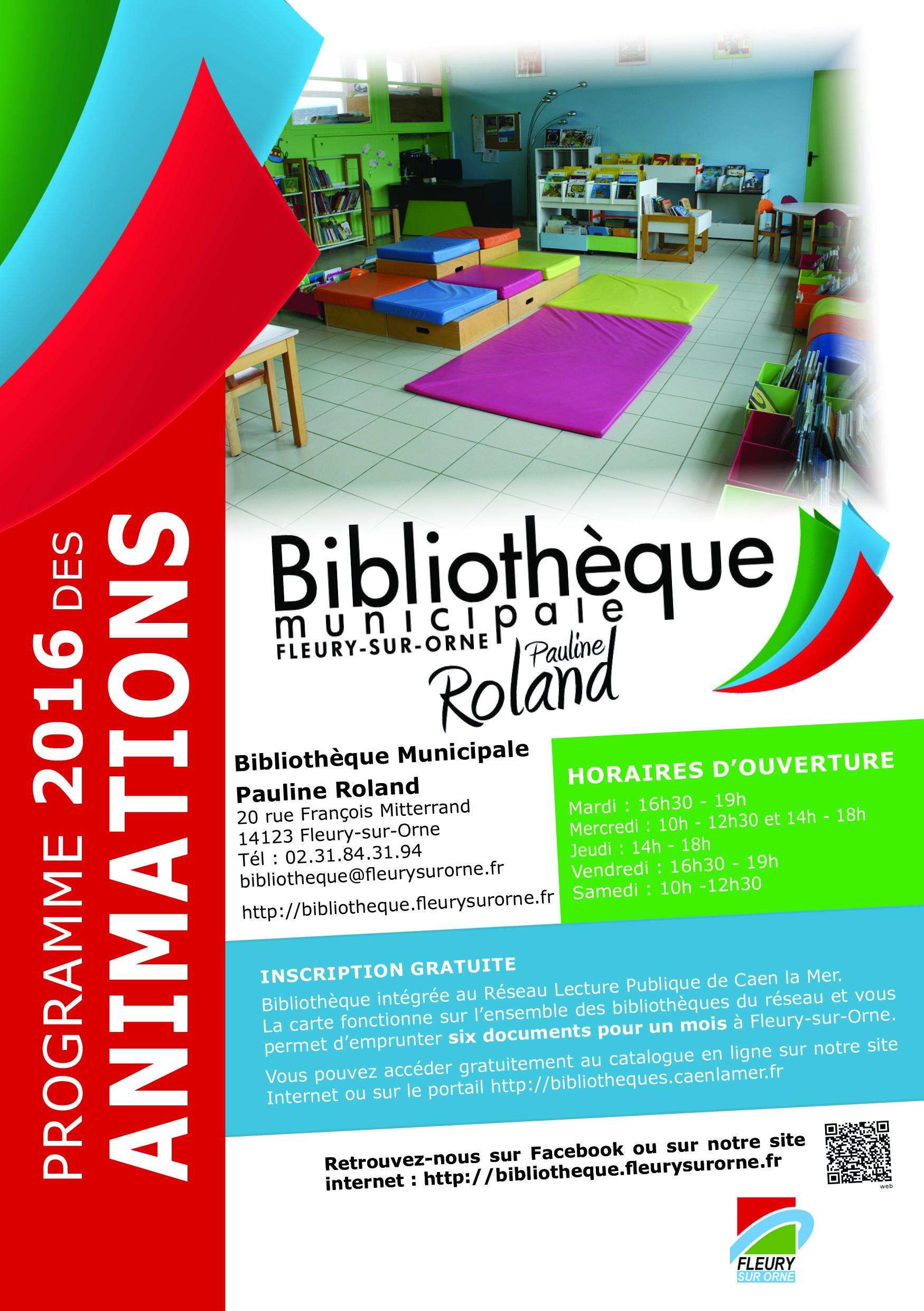 Programme bibli 2016