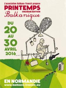 Affiche Printemps Balkanique
